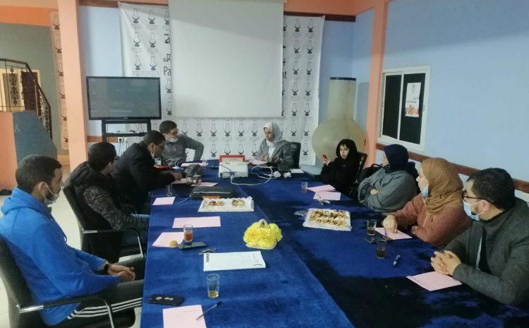 شبيبة إنزكان تناقش حصيلة المجلس الجماعي خلال الولاية الحالية 2015-2020 في مجال حفظ الصحة
