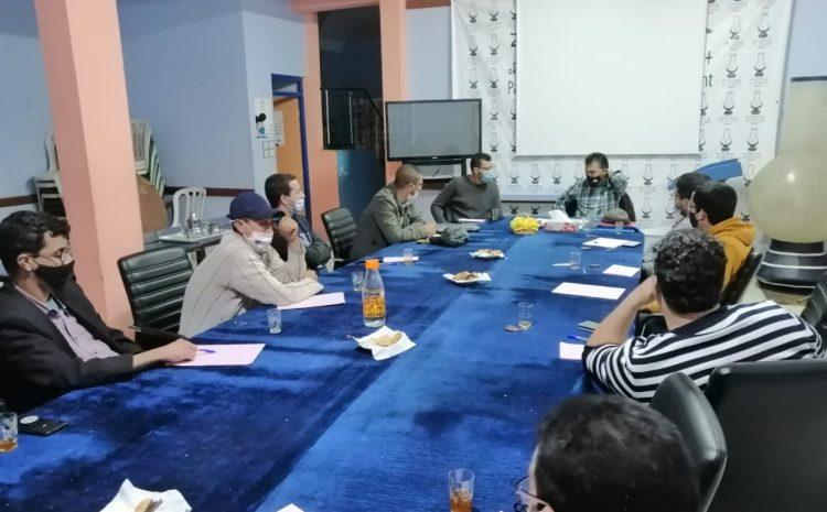 شبيبة العدالة والتنمية بإنزكان تنظم لقاء تواصليا حول حصيلة المجلس الجماعي في مجال التعمير